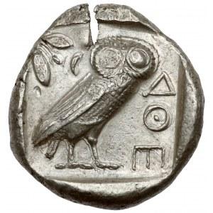 Grecja, Attyka, Ateny (454-404 p.n.e.) Tetradrachma - sówka