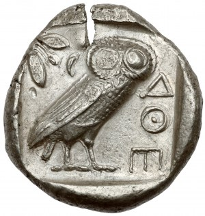 Grecja, Attyka, Ateny (454-404 p.n.e.) Tetradrachma -