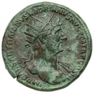 Hadrian (117-138 n.e.) Dupondius, Rzym