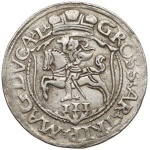 Zygmunt II August, Trojak Wilno 1564