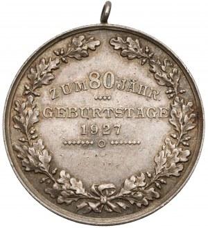 Niemcy, Medal na pamiątkę 80-tych urodzin Hindenburga 1927