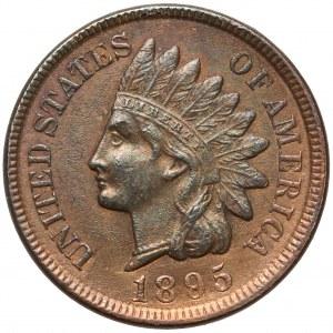 USA, 1 cent 1895 - Indian Head