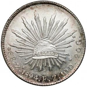 Meksyk, 8 reali 1894, ZS FZ