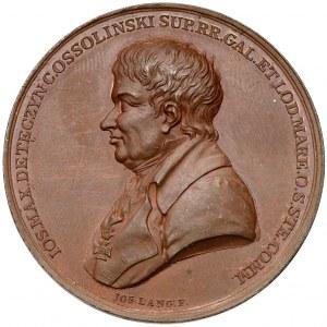 Medal, Otwarcie biblioteki Ossolińskich we Lwowie 1817