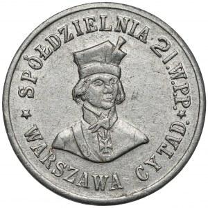 Warszawa - Cytadela, 21. Warszawski Pułk Piechoty, 1 złoty
