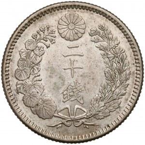 Japonia, Meiji, 20 sen, rok 25 (1892)