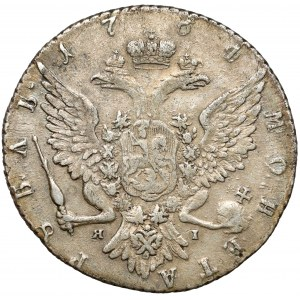 Rosja, Katarzyna II, Rubel 1764 ЯI, Petersburg