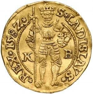Węgry, Rudolf II, Dukat 1582 KB, Kremnica
