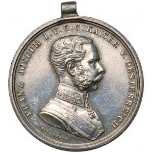 Austro-Wegry, Franciszek Józef I, Medal za odwagę - srebrny