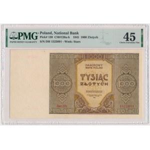 1.000 złotych 1945 - Ser.Dh - seria zastępcza