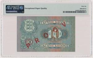Estonia, 10 Krooni 1940 SPECIMEN