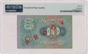 Estonia, 10 Krooni 1937 SPECIMEN
