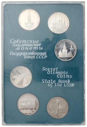 ZSRR, Olimpiada - zestaw monet (6szt)