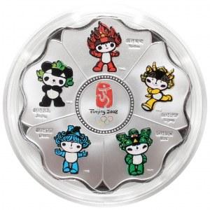 Chiny, Medal 2008 - maskotki Olimpiada Pekin