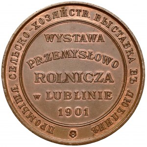 Medal Wystawa Przemysłowo Rolnicza w Lublinie 1901