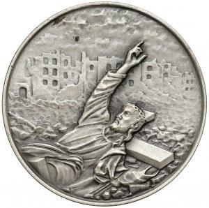 Medal SREBRO 40 rocznica Powstania Warszawskiego 1984