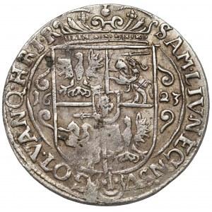 Zygmunt III Waza, Ort Bydgoszcz 1623 - korona z krzyżykami
