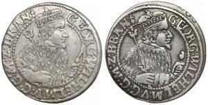 Prusy, Jerzy Wilhelm, Orty Królewiec 1623 i 1624 (2szt)