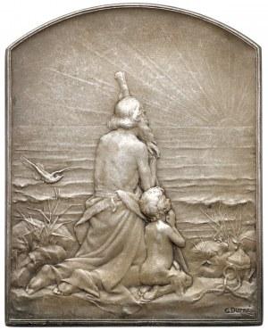 Francja, Paryż, Medal Hołd słońcu 1910 (G.Dupre)
