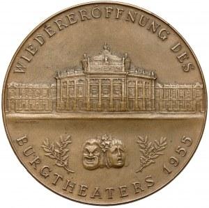 Niemcy, Medal, ponowne otwarcie Teatru Zamkowego (Burgtheater) 1955