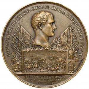 Francja, Napoleon, Medal Bitwa pod Marengo