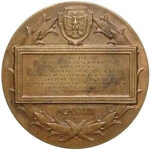 Medal 100-lecie Banku Polskiego (Aumiller) 1928