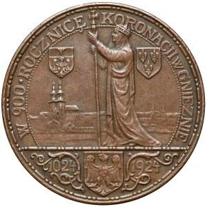 Medal 900-lecie koronacji Bolesława Chrobrego 1924