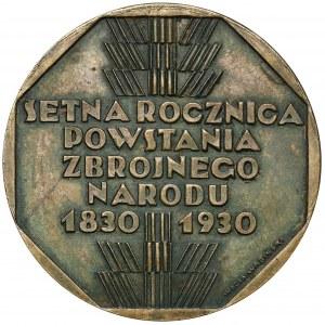 Medal 100. rocznica Powstania Listopadowego 1930 (Repeta/Wabiński)