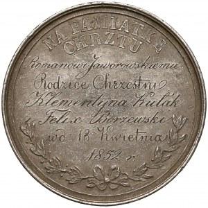 Medal Na Pamiątkę Chrztu, 1852 r. (IM)