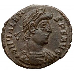 Walens (364-378 n.e.) Follis, Aquileia