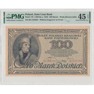 100 mkp 1919 - Ser.BA