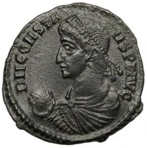 Konstans I (337-350 n.e.) Follis, Aquileia