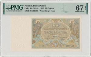 10 złotych 1929 - Ser.DR.