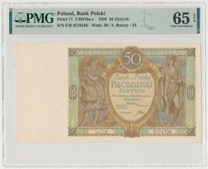 50 złotych 1929 - Ser.EM