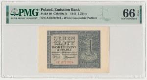 1 złoty 1941 - AE