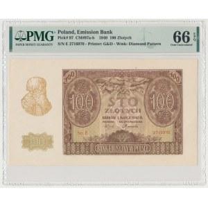 100 złotych 1940 - Ser.E