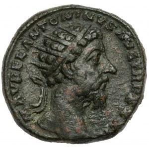 Marek Aureliusz (161-180 n.e.) Dupondius, Rzym