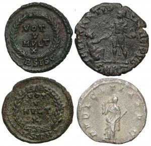 Cesarstwo Rzymskie, Zestaw monet (4szt)
