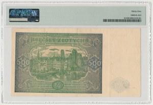 500 złotych 1946 - Dx - seria zastępcza