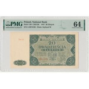 20 złotych 1947
