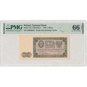 2 złote 1948 - Z