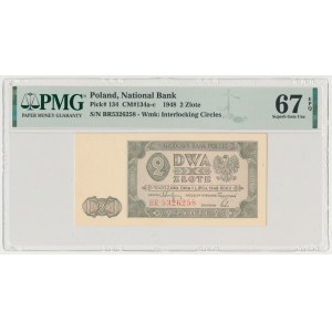 2 złote 1948 - BR