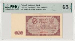 5 złotych 1948 - B