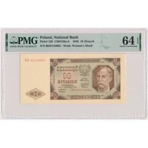 10 złotych 1948 - BD