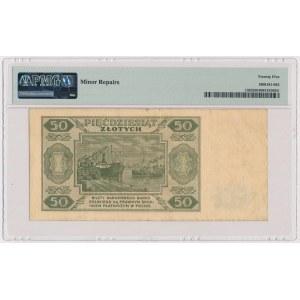 50 złotych 1948 - 6 cyfr - T