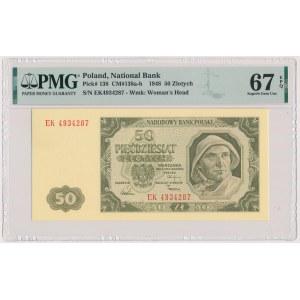 50 złotych 1948 - EK