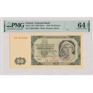 50 złotych 1948 - CR