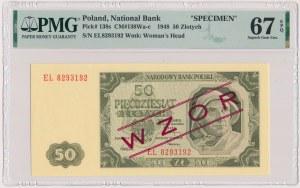 50 złotych 1948 - WZÓR kolekcjonerski - EL