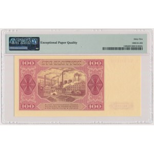 100 złotych 1948 - GU - bez ramki