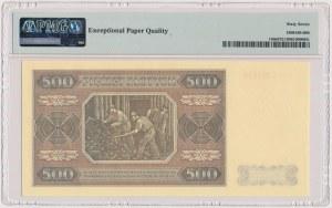 500 złotych 1948 - WZÓR kolekcjonerski - CC